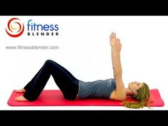 Low Impact Beginner Pilates Workout - Great Post Pregnancy Workout for New Mothers @Melissa Mitchell