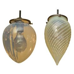Nouveau Glass Pendant Fixtures | From a unique collection of antique and modern chandeliers and pendants  at https://www.1stdibs.com/furniture/lighting/chandeliers-pendant-lights/