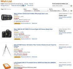 REPIN if your wishlist looks like this! :)