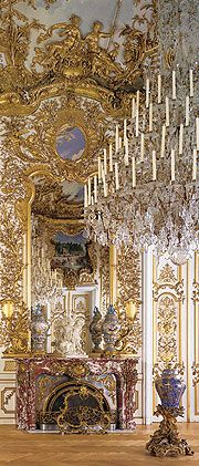 Bedchamber in Linderhof Palace Been there twice, it's beautiful!