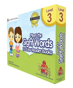 Level 3 Meet the Sight Words Easy Reader Book Set