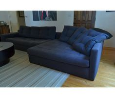 blue sectional sofa | Environment Furniture Studio Sectional Sofa | Blue Sectional Sofas for ...