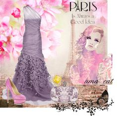 """Paris star"" by umacat ❤ liked on Polyvore"