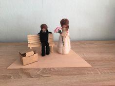 Geldgeschenke - Hochzeitsgeschenk, Geldgeschenk, gefilzt,Brautpaar - ein Designerstück von KaButi308 bei DaWanda Place Cards, Place Card Holders, Blog, Etsy, Decor, Ideas, Cash Gifts, Newlyweds, Felting