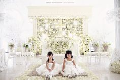 10 best wedding surabaya decoration images on pinterest surabaya in todays wedding feature captured by axioo photography a handsome couple magnificent crystal adorned flower arrangements beautifully draped bridesmaid junglespirit Images