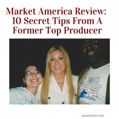 Market America Review | 10 Secret Tips From A Former Top Producer The health and wellness industry is a booming industry and is constantly evolving with new MLM products to give a person a better quality of life.  The fact that Market America has been the pioneer in the online marketing of high quality products and services and completely debt free says alot.