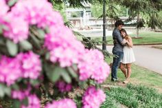 Philadelphia Museum of Art Engagement Session | Spring at the Barnes | Yolanda and Michael