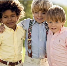 Little Boys in Ralph Lauren!