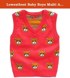 Lowestbest Baby Boys Multi Argyle Cable Knit Sweater Vest V-neck. Lowestbe's Sweater Vest (Baby)- is the leading brand of children's clothing, Their designs are based on a heritage of quality and innovation that has earned them the trust of generations of families. Features: Soft and comfortable cotton material Fashion European style Machine Washable V-neck design is easy to fit different type of outfit and shirt Perfect for any occasion Specifications: Material: Cotton Occasion: Casual…