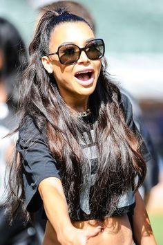 Naya Rivera- she looks cute, I need her body!