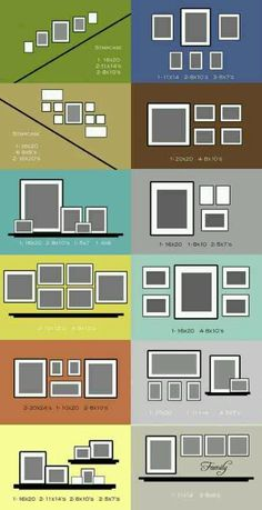 Different ways to decorate picture frames