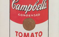 Andy Warhol (American, 1928–1987). *Campbell's Soup Cans* (detail). 1962. Synthetic polymer paint on 32 canvases, each 20 × 16″ (50.8 × 40.6 cm). The Museum of Modern Art, New York. Partial gift of Irving Blum. Additional funding provided by Nelson A. Rockefeller Bequest, gift of Mr. and Mrs. William A.M. Burden, Abby Aldrich Rockefeller Fund, gift of Nina and Gordon Bunshaft in honor of Henry Moore, Lillie P. Bliss Bequest, Philip Johnson Fund, Frances R. Keech Bequest, gift of Mrs. Bliss…