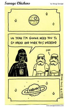 On the Death Star