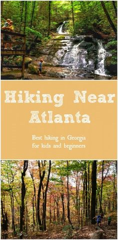 Best Places for Hiking in Georgia [Kids & Beginners] If you enjoy hiking near Atlanta then this list of 125 hikes under is a great resource. Enjoy the best hiking in Georgia for kids and beginners Hiking With Kids, Road Trip With Kids, Camping And Hiking, Backpacking, Camping Cabins, Georgia State Parks, Atlanta Georgia, Savannah Georgia, Atlanta Travel