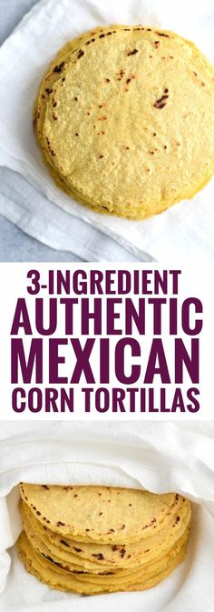 Authentic Mexican Homemade Corn Tortillas are the best! They're better than store bought, are healthy and are gluten-free. Authentic Mexican Homemade Corn Tortillas are the best! They're better than store bought, are healthy and are gluten-free. Mexican Cooking, Mexican Food Recipes, Authentic Mexican Recipes, Latin Food Recipes, Authentic Food, Spanish Recipes, Enchiladas, Homemade Flour Tortillas, Tortilla Wraps