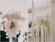 Photographer: Elizabeth Messina   Reception Venue: Four Seasons Biltmore   Flowers & Decor: Jeff Leatham   Lighting: Peterson Event Lighting   Rental Furniture: Revelry Event Designers   Linens: Resource One Inc