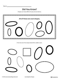tracing different size shapes oval rectangle worksheets kindergarten prep and shapes worksheets. Black Bedroom Furniture Sets. Home Design Ideas
