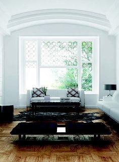 Living Room Design Ideas. Red body floor tiles collection. Versailles Series.