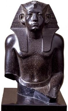 The Pushkin Museum of Fine Arts | Statue of Pharaoh Amenemhet III, 19th century BC.