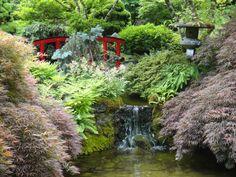 Japanese Gardens, Butchart Gardens, Victoria, Vancouver Island, Canada