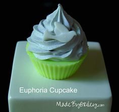 Cupcake Soap Euphoria fragrance Soap base and soap frosting