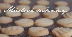 Nejklasičtější sušenky s výraznou máslovou chutí. Jsou jemné a úžasně křehké. Ozvláštnit je můžete třeba citronovou kůrou nebo vanilkou.... Desert Recipes, Crinkles, No Bake Cake, Sweet Tooth, Almond, Goodies, Sweets, Bread, Cooking