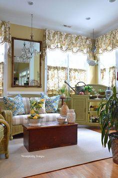 Sunroom for Summer-Housepitality Designs