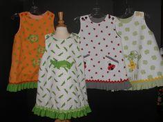 ruffles A-line dress