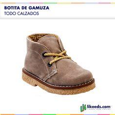 Botita con corderito #Moda #Folk #Niños  Para ver talles y comprar ¡Hacé click en la imagen!