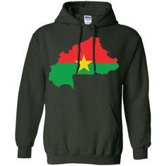 Burkina Faso flag -01 Pullover Hoodie 8 oz