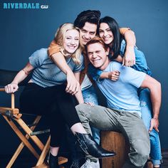 Ready for more of the Core 4? Riverdale returns with new episodes January 17 on The CW! Catch up now on The CW!