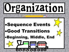 6+1 Writing Organization - Lessons - Tes Teach