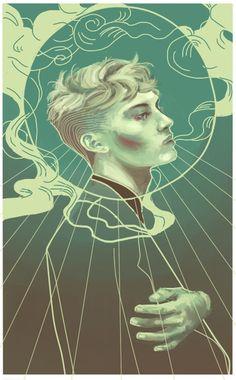Noah Czerny Art Print by Louise Delfin | Society6