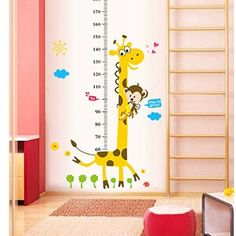 Cute Animal Wall Sticker DIY Removable Art Vinyl Quote Wall Sticker Decal Mural Home Room Decoration Kid's Room Decoration: Amazon.co.uk: DIY & Tools