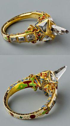 Jewelry Designer Blog. Jewelry by Natalia Khon: Jewellery masterpieces. Antique ring, 16th century