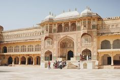 Jaipur Amer Fort.  India you never fail to faze us with your magnificence.  #TheTravelIntern #FlyScoot #India #Jaipur