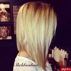 Love this short hair cut