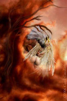 man vs eagle fantasy picture - Hľadať Googlom