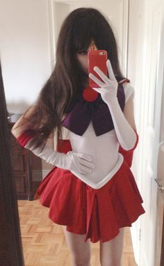 Sailor Mars costume | jess woods