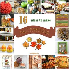 16 Ideas to Make Fal