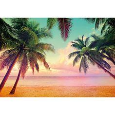 Fototapet Plaja Miami, un superb peisaj cu o combinatie odihnitoare de nuante solare ideale pentru dormitorul tau. Comanda online Fototapet Plaja pe traget.ro.