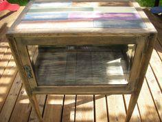 Handmade Antique Side Table. $159.00, via Etsy.