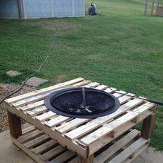 Instructions et des plans pour construire un barbecue avec for Table exterieur en palette