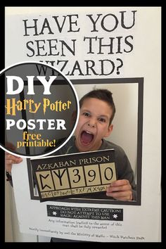 DIY Harry Potter Sir