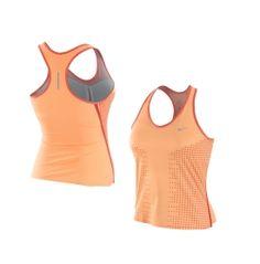 Nike Women's Dri-FIT Running Swift Racer Shirt $34