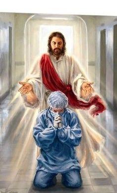 Jesus my GOD my Savior protect the front liners. Jesus Christ Painting, Jesus Art, God Jesus, Pictures Of Jesus Christ, Names Of Jesus, Christian Art, Christian Quotes, Miséricorde Divine, Image Jesus