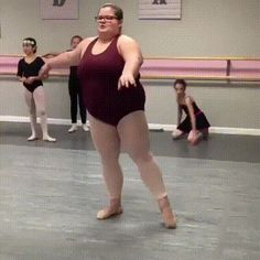 She is a great dancer!