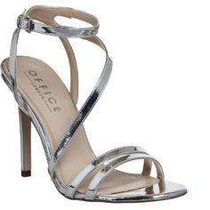 Talons Argent, Chaussures À Talons Hauts, Heels 61, Shoes Gold Heels, 1 Shoes, Nadine Asymmetric, Asymmetric Heels, Office Footwear, Shoes Office