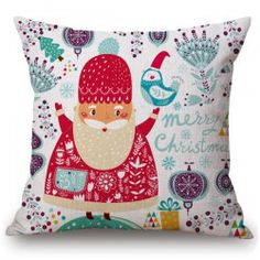SHARE & Get it FREE | Merry Cartoon Santa Claus Pillow CaseFor Fashion Lovers only:80,000+ Items • FREE SHIPPING Join Twinkledeals: Get YOUR $50 NOW!