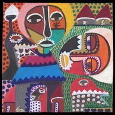Indigo Arts Gallery   Art from Africa   Painting from Kenya